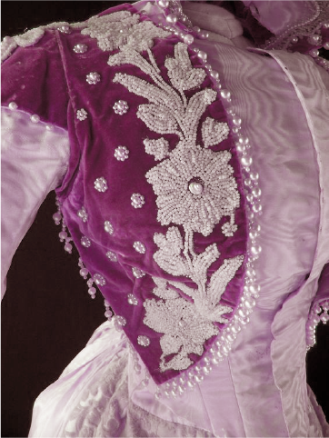 Purple Dress from Museum Textile Collection