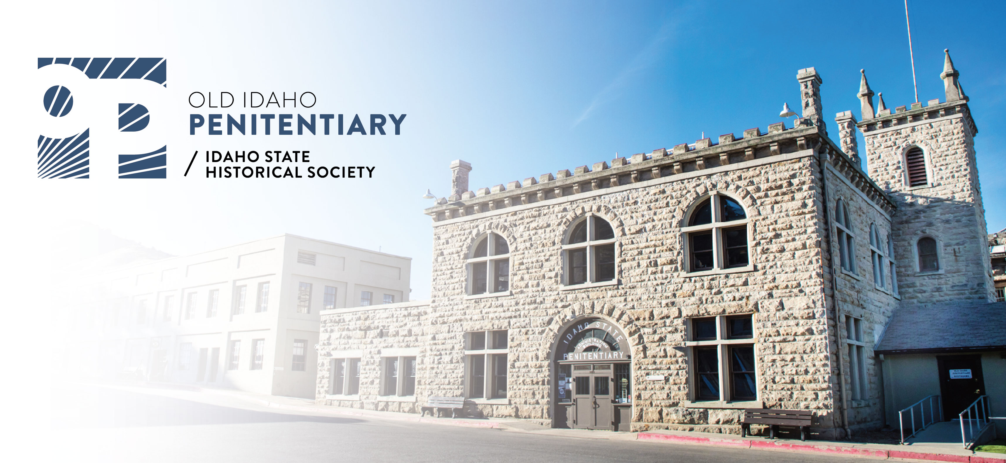 Old Idaho Penitentiary Logo and Entrance