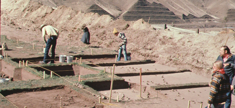 Excavation at White Bird Heckman Ranch