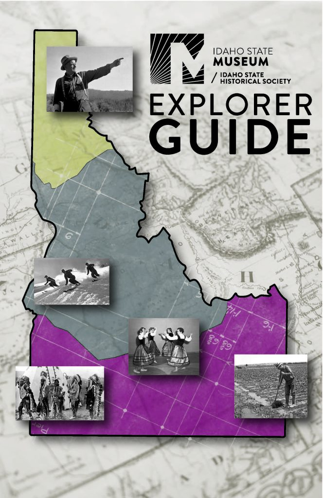 Cover Page of Idaho State Museum Explorer Guide Booklet