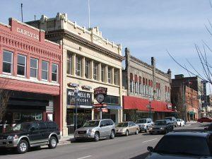 City of Pocatello streetscape