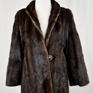Sally Reed Fur Coat